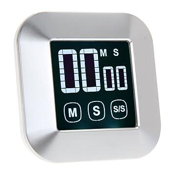 winnereco LCD Digital Pantalla táctil práctica cocina cocina temporizador alarma reloj: Amazon.es: Hogar