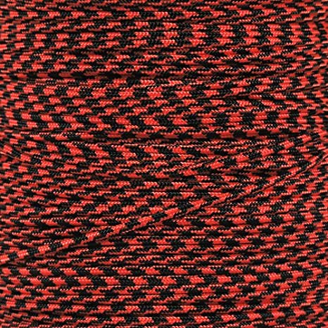 5 Strand Nylon Core Wide Variety of Color Options Craft County 275 Pound Tensile Strength Paracord 100 Feet