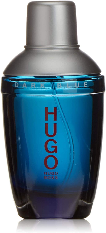 Hugo Dark Blue By Hugo Boss For Men Eau De Toilette Spray 2 5 Ounces Amazon Ca Beauty