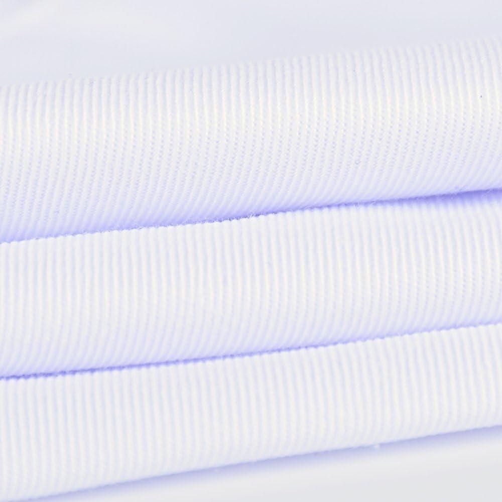 AONER Camice Bianco Uomo da Laboratorio Medico Lavoro in Policotone con Manica Lunga