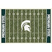 Michigan State Spartans NCAA College Home Field Team Area Rugs