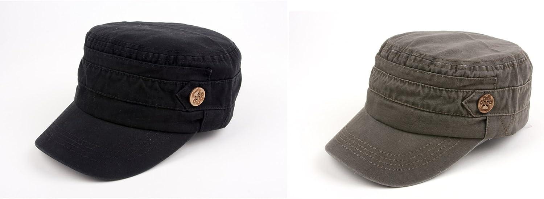 Pop Fashionwear 100/% cotton Army-Inspired Cadet Hat 172 HC