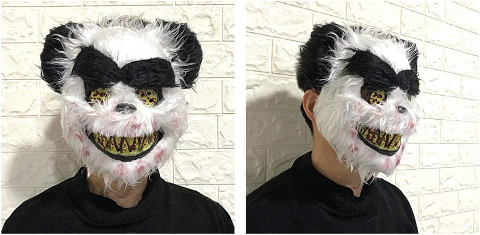 YUJJ Máscara De Halloween Máscara De Monstruo Sangriento Arnés ...