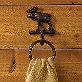 Park Designs Cast Moose Towel Ring Hook
