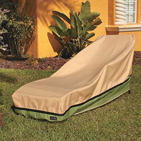sure fit patio furniture covers. Sure Fit Chaise Lounge Cover, Taupe Patio Furniture Covers U