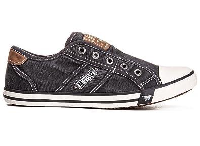 Mustang Shoes Herren Schuhe Sneaker grau