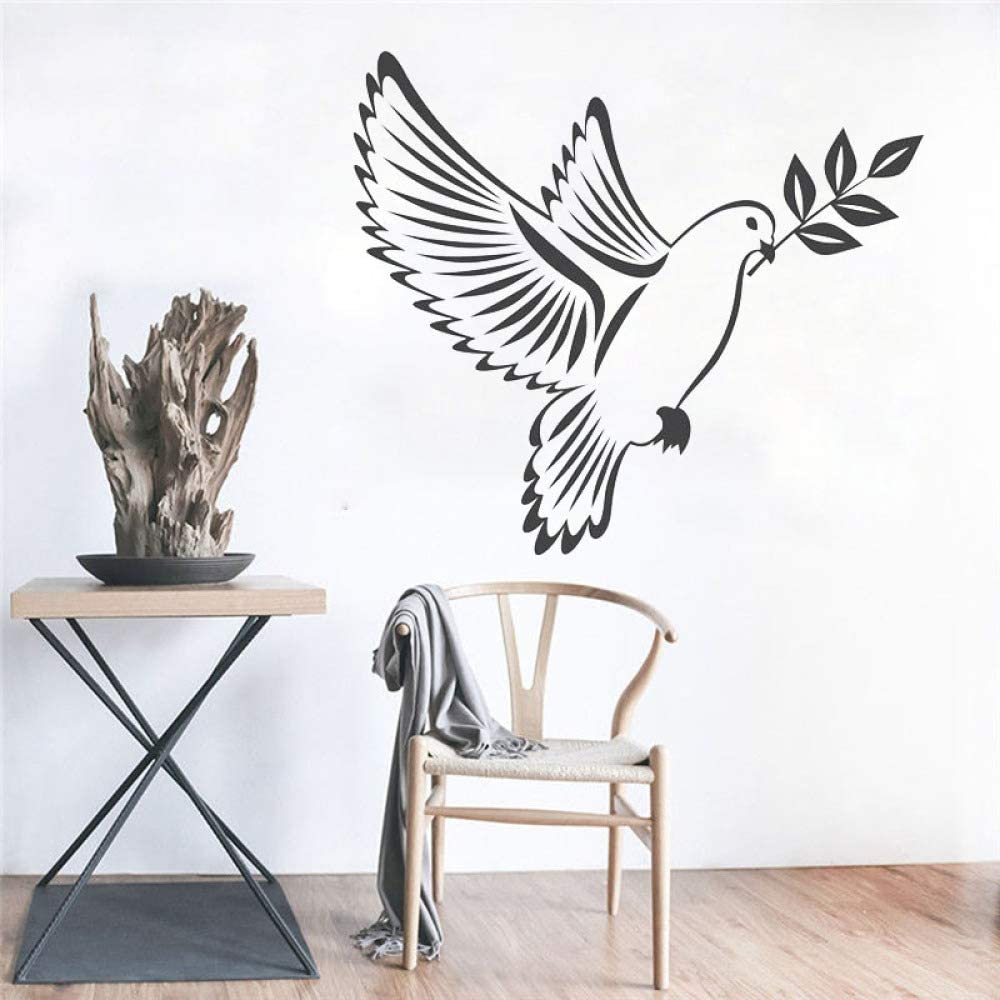 Baobaoshop Birds Peace Vinilo Adhesivos de Pared Decoración para ...