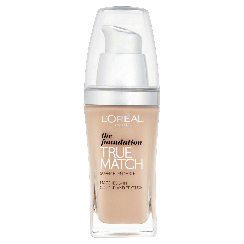 Fond de teint The Foundation True Match (Le Teint Accord Parfait) L'Oréal C1 Ivoire Rosé
