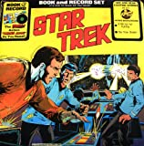 STAR TREK BOOK AND RECORD SET.