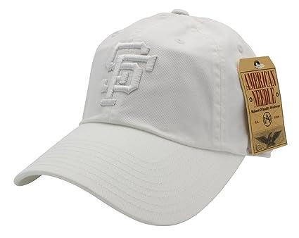 8ebe1a62c829f9 San Francisco Giants MLB American Needle Tonal Ballpark Slouch Cotton Twill  Adjustable Hat (White)