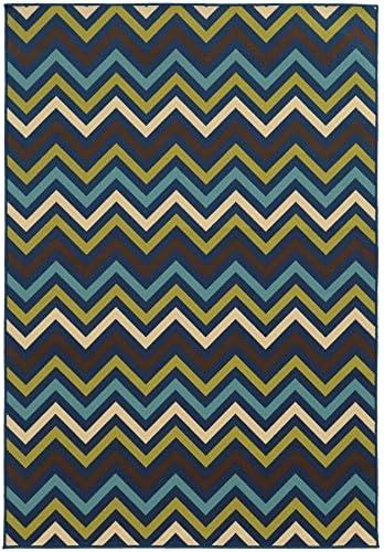 Oriental Weavers 4593S Riviera Area Rug, 8 6 x 13