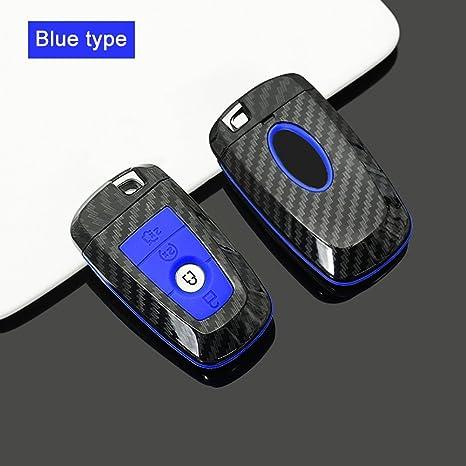 Amazon.com: QHCP - Funda para llave de coche con mando a ...