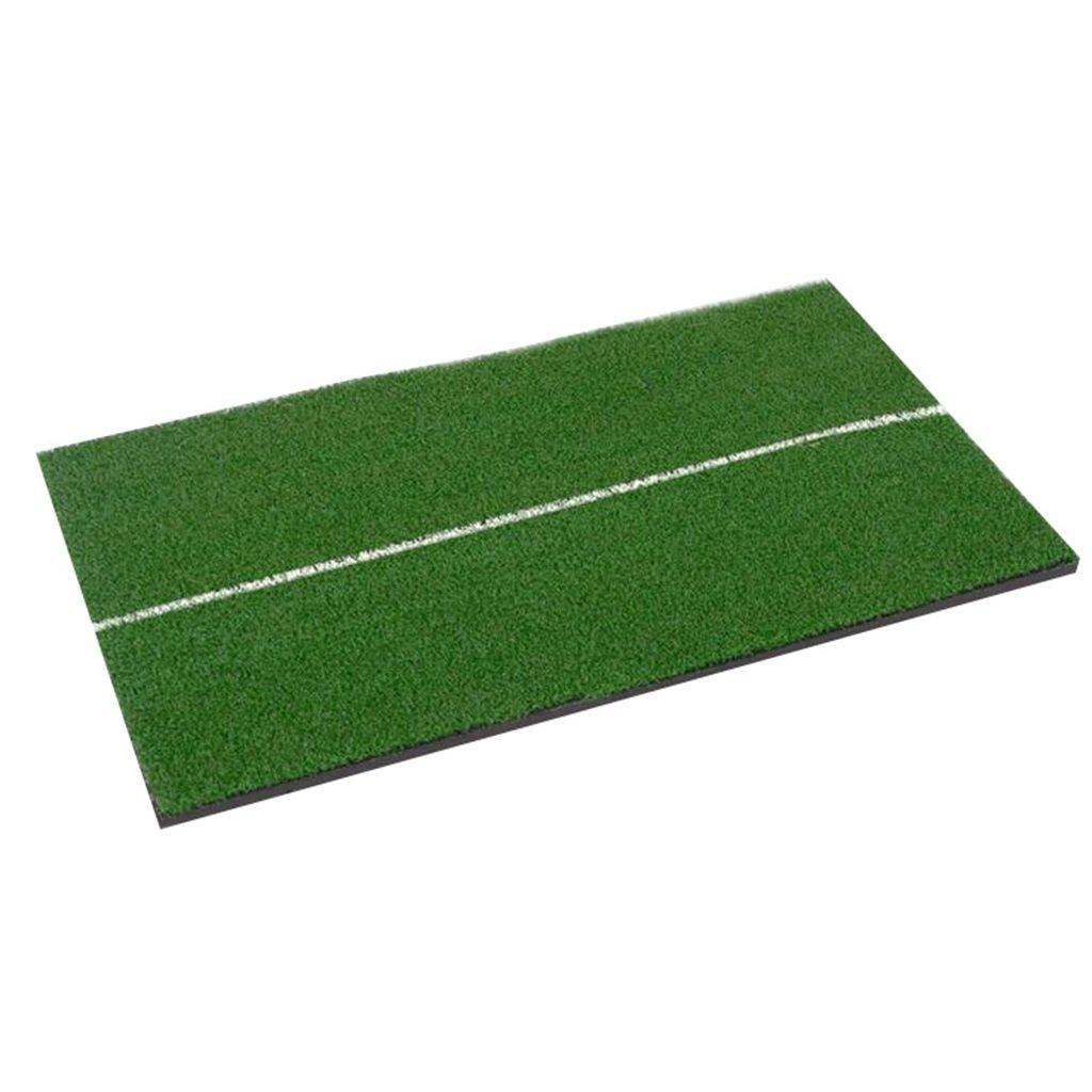 Zfggdゴルフマットシングルグラスマットスイングマット、住宅裏庭ゴルフトレーニング練習打撃マット、30センチ* 60センチ   B07MLGRGN4