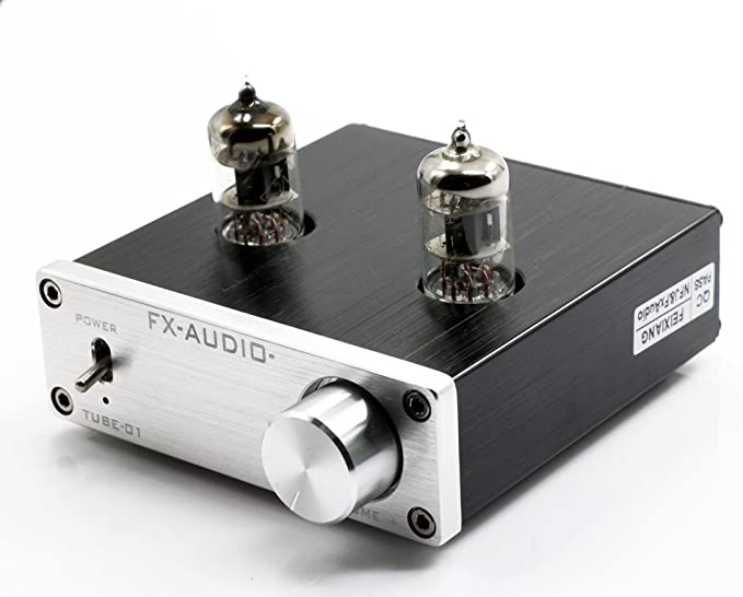 Amazon.com: FX Audio TUBE-01 6J1 - Preamplificador de alta ...