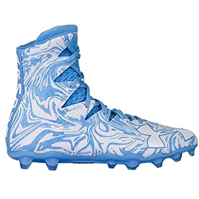 f38af51e9 Image Unavailable. Image not available for. Color  Under Armour UA  Highlight Lux MC White Carolina Blue Mens Football Cleats ...