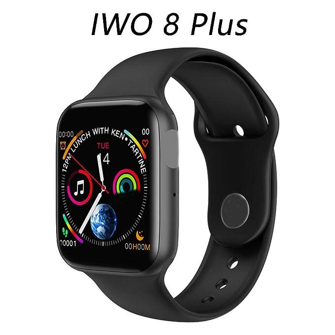 Amazon.com: HWTP Smart Watch for Men Using iwo 9 Heart Rate ...