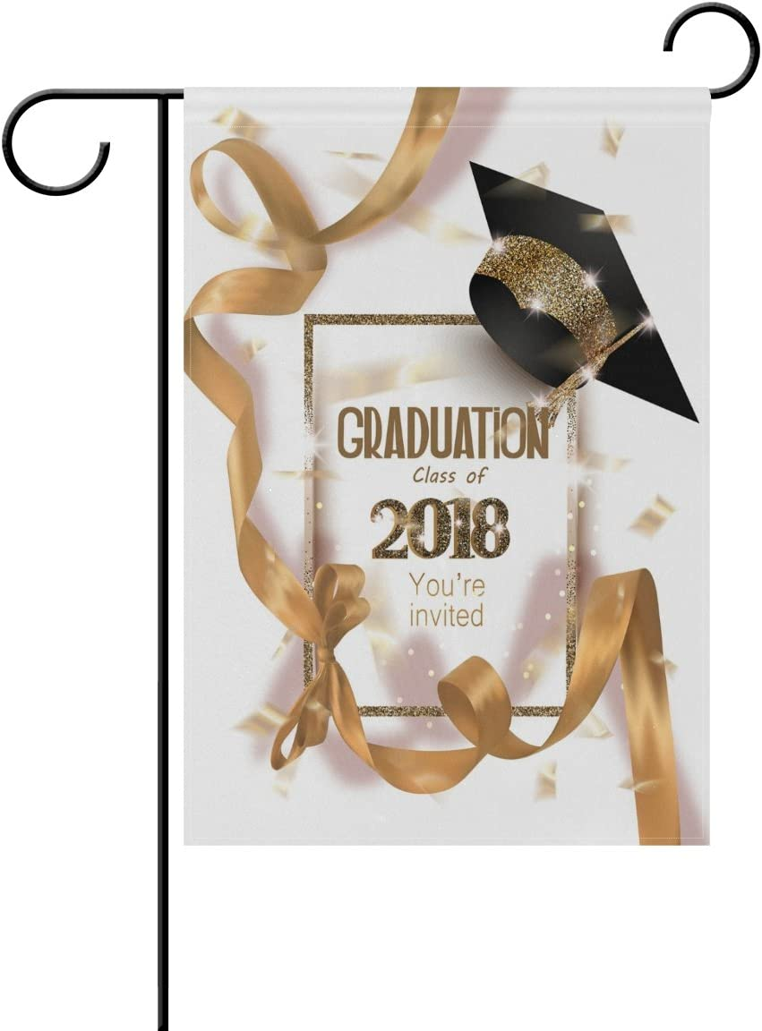 Personalised Graduation Polyester Ribbon Party Decoration Banner 1 Metre Long