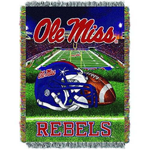 Blanket Tapestry Series (Mississippi Rebels Home Field Advantage Series Tapestry Blanket 48 x 60)