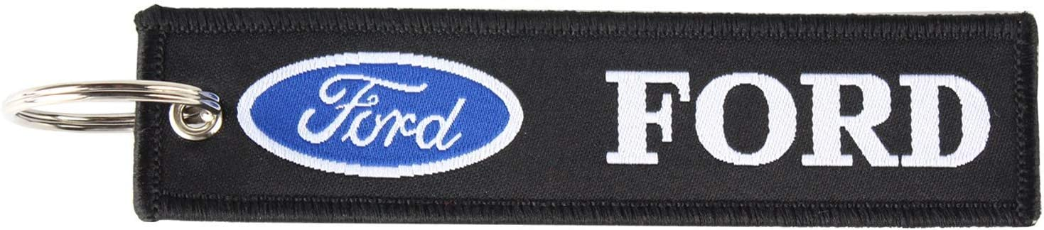 Ford 2 Pcs in Set Set Keychain Double Sided for Motorcycles Jet tag Keychain Scooters Cars and Gifts