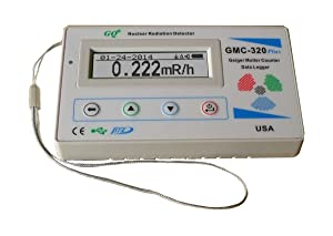 GQ GMC-320Plus Fulfill Nuclear Radiation Detector Meter Test Equipment