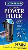 Interpet Internal Aquarium Power Filter PF Mini for Fish Tanks, Black/Blue