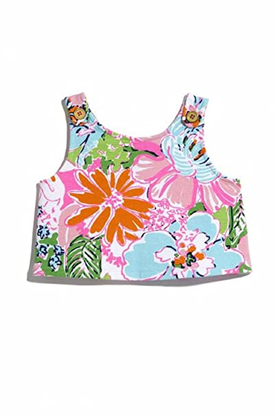 d87874b621 Lilly Pulitzer Target Girls Tank Top (XS (4 5)