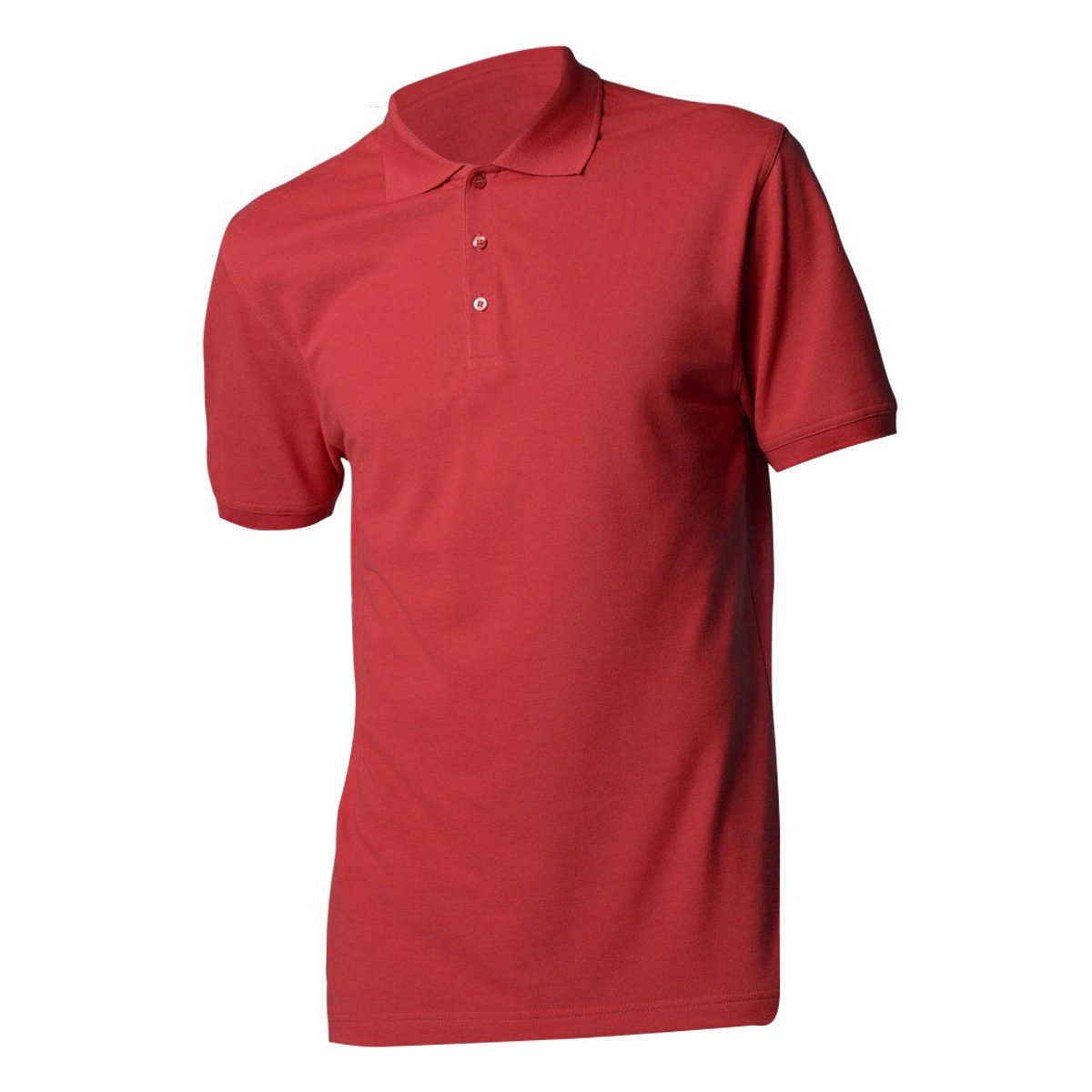Kustom Kit Mens Slim Fit Short Sleeve Polo Shirt (M) (Red) UTBC3236_25