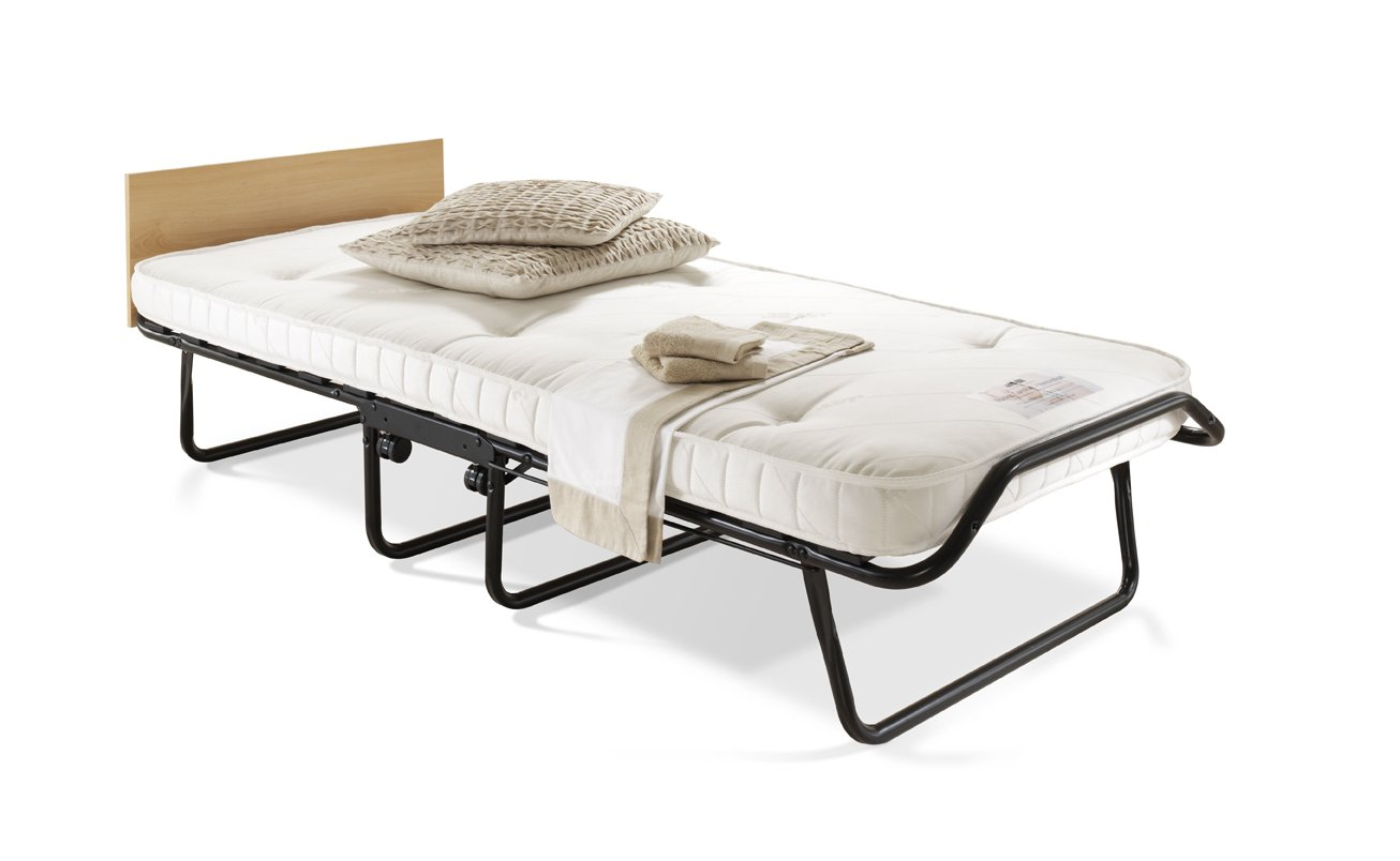Jay Be Chatsworth Single Folding Guest Bed With Pocket Sprung Mattress Amazon Co Uk Kitchen Home