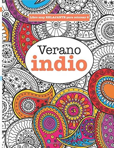 Libros Para Colorear Adultos 6 Verano Indio Volume 6