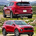 Exterior Parts For Kia Sportage Ql 2016 2017 2018 Chrome Fog Head Tail Light Side Door Mirror Cover Trim Body Molding Decoration Car Styling