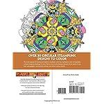 Creative Haven Steampunk Mandalas Coloring Book (Creative Haven Coloring Books) 6