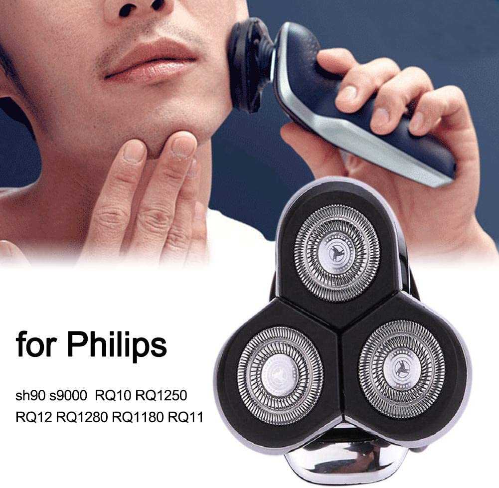 Knowled Cabezales de Repuesto para Philips sh90 s9000 RQ10 RQ1250 RQ12 RQ1280 RQ1180 RQ11 afeitadoras eléctricas: Amazon.es: Hogar