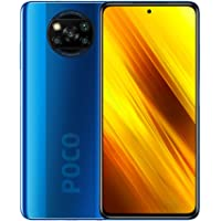Xiaomi Poco X3 Smartphone, NFC, Dual SIM, 6GB RAM, 128GB, Global Version - Cobalt Blue