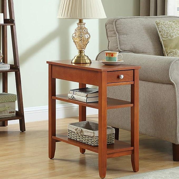 Amazon.com: HUO, mesa de café, sofá, armario lateral ...