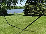 3-Beam Hammock Stand by Hammock Universe - 15ft Heavy Duty Powder Coated Steel Frame for Hanging Hammocks - Sing from the Outdoors, Patio, Backyard - Includes 1-Year Warranty &