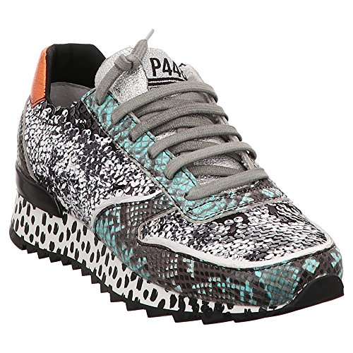 P448 Boston | Sneaker - Schwarz | Pailettes Schwarz