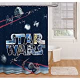 Jay Franco And Sons Star Wars Space Battle 72 Inch Shower Curtain