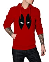 Red Deadpool Eyes Hoodie