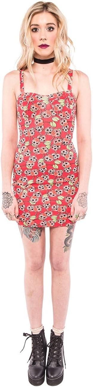 Womens Scary Cherry Dress Iron Fist