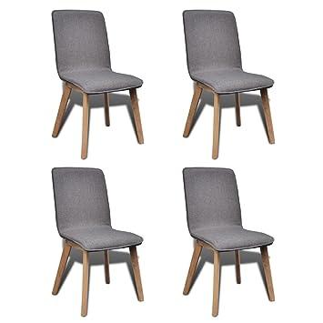 Esszimmerstühle vidaxl 4x stühle stuhl stuhlgruppe hochlehner esszimmerstühle