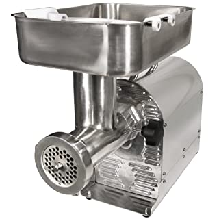 Weston No. 22 Commercial Meat Grinder and Sausage Stuffer, 1 HP