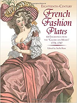 18th Century French Fashion Plates in Full Color