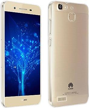 REY Funda Carcasa Gel Transparente para Huawei P8 Lite Smart, Ultra Fina 0,33mm, Silicona TPU de Alta Resistencia y Flexibilidad: Amazon.es: Electrónica