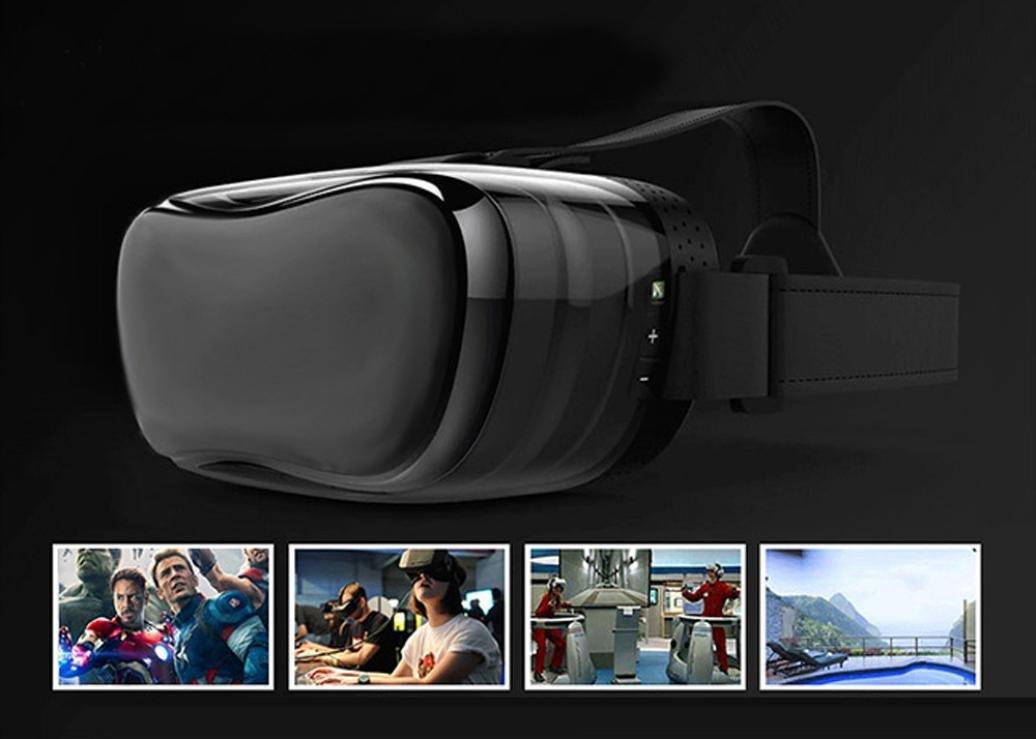 Coper 1080P HD Virtual Reality 3D Glasses Octa-Core Android 4.4 2+8GB Headset Box (Black) by Coper (Image #2)