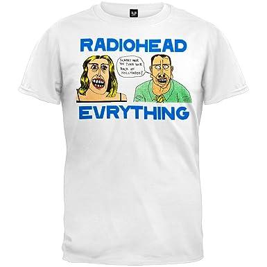 cb0f085e5 Amazon.com: Old Glory Radiohead - Hollywood Soft T-Shirt: Clothing