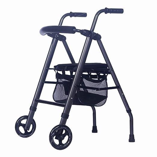 Accesorios para andadores con ruedas Walker Old Man Plegable ...