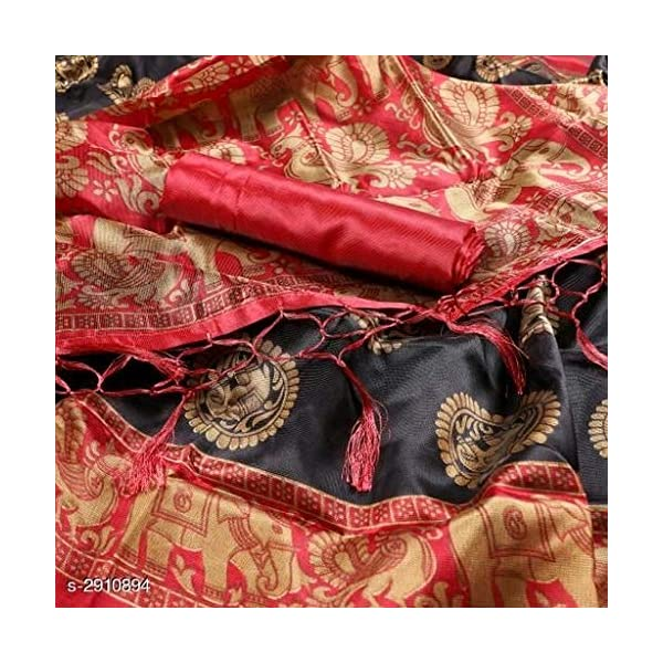 61Jd0waKj8L Anni Designer Women's Art Silk Saree With Blouse