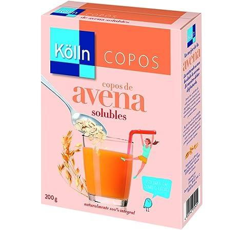 Kölln Copos de Avena Instantáneos - 200 gr: Amazon.es ...