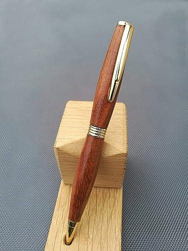 Bubinga Wooden Ballpoint Pens Original Gift For Man Woman Student Teacher Birthday Idea Retirement Valentine Wedding Christmas Fathers Day