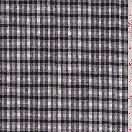 Camisa de tela Oxford de cuadros de color gris esterlina por ...